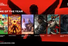 صورة الألعاب المُرشحة للقب لعبة العام بحدث The Game Awards .