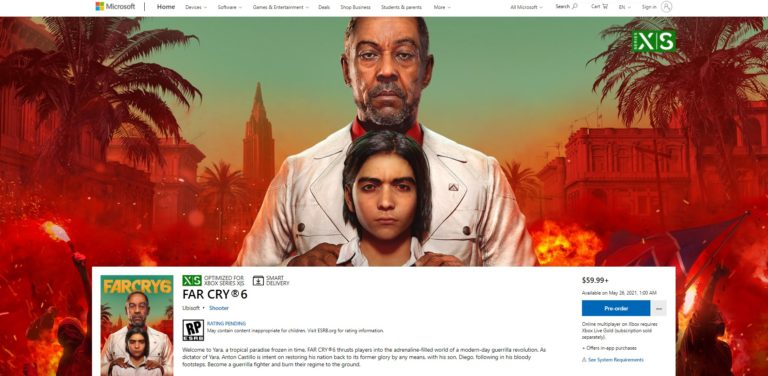 Far Cry 6 release date 768x376 1