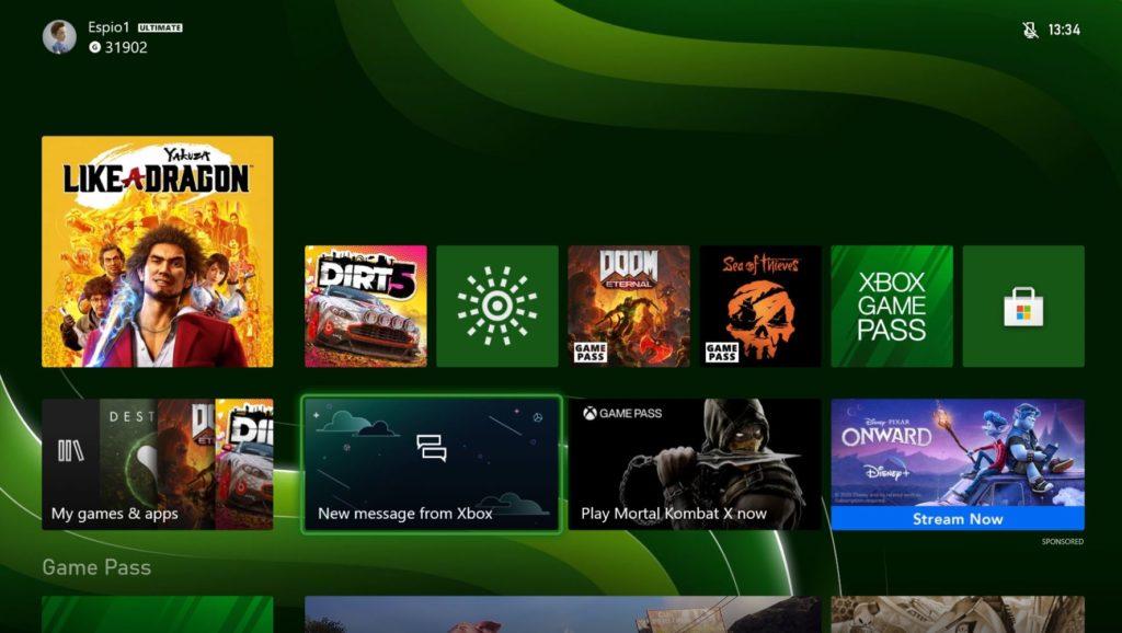 Xbox Series X dash e1604535306727 1024x578 1