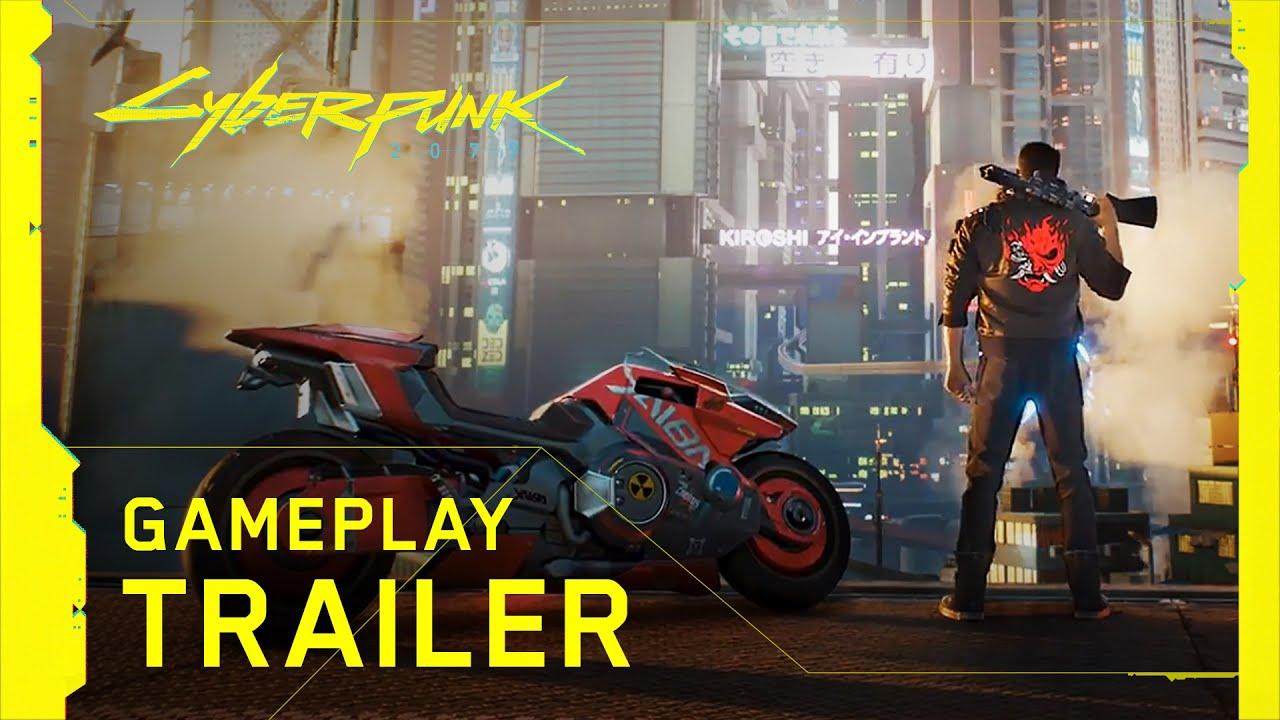 cyberpunk 2077 official gameplay trailer BO8lX3hDU30