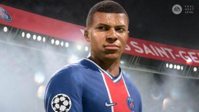 صورة عرض سينمائي جديد للعبة Fifa 21 على أجهزة Xbox Series X / S .