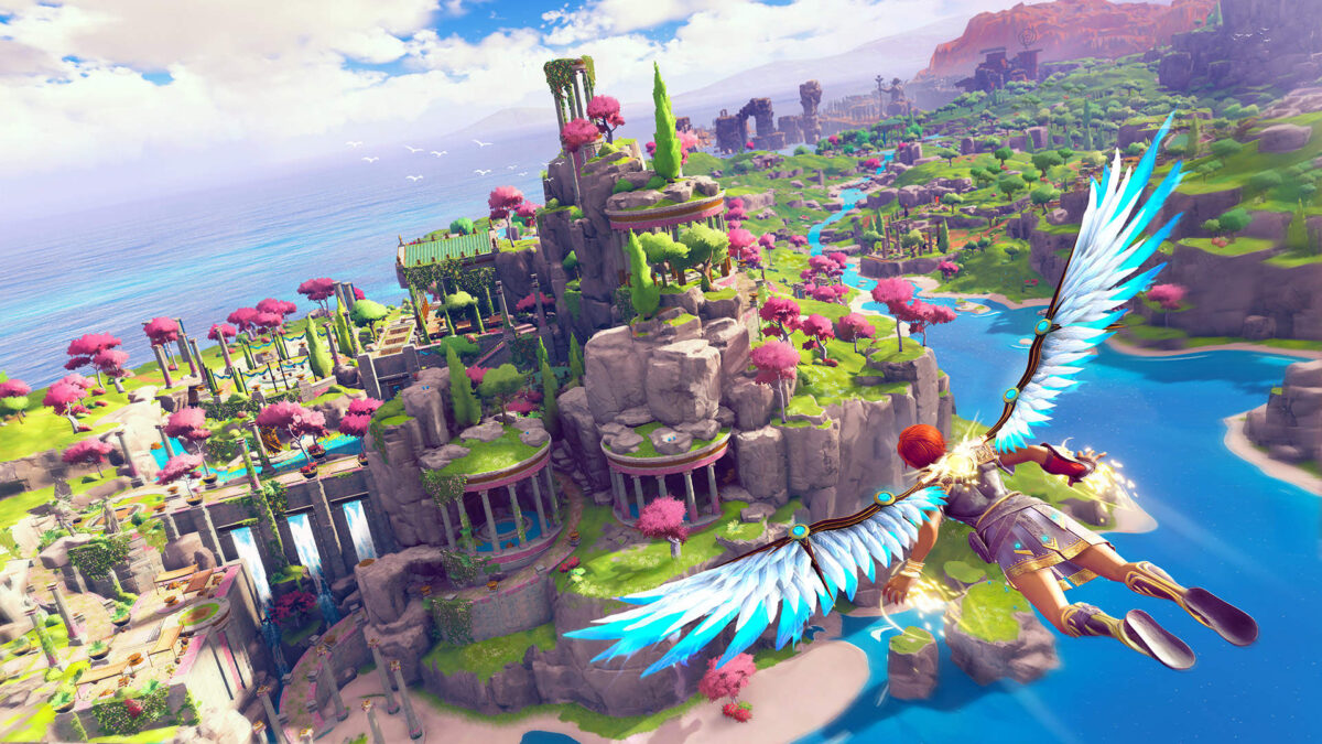 immortals fenyx rising is a colorful throwback to classic 3d platfor