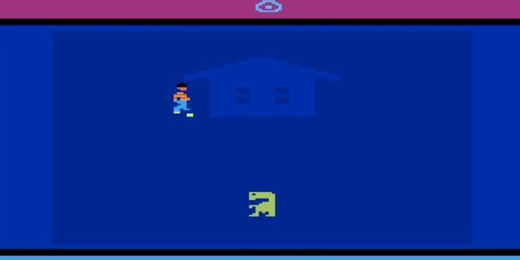 Atari 2600 ET The Extra Terrestrial Screen