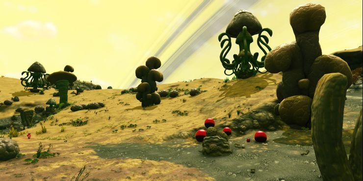 No Mans Sky Toxic Planet Biome
