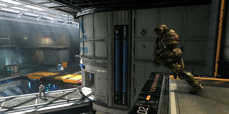 halo infinite multiplayer gameplay screenshot