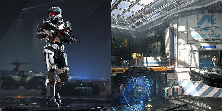halo infinite multiplayer map spartan armor