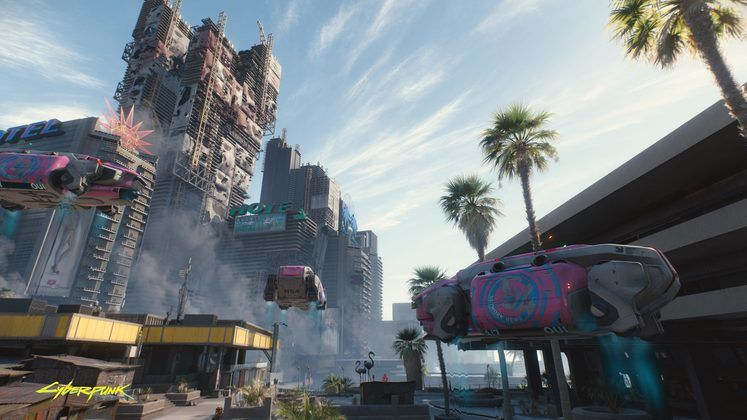 large Cyberpunk2077 Hope you arent afraid of heights en