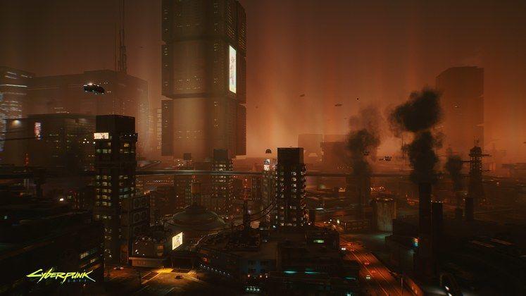 large Cyberpunk2077 November 2077 RGB en