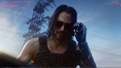 صورة تقرير : لعبة Cyberpunk 2077 كان من المفترض أن تصدر خلال عام 2022 .