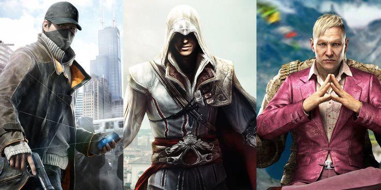 Ubisoft Open World Games