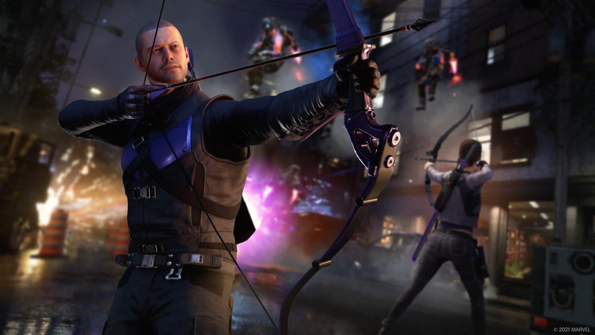 https apptrigger.com files 2021 02 Marvels Avengers Clint Kate 02