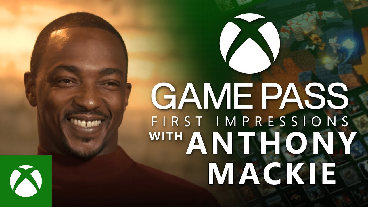 Anthony Mackies first time trying Xbox Game Pass Xbox Sessions