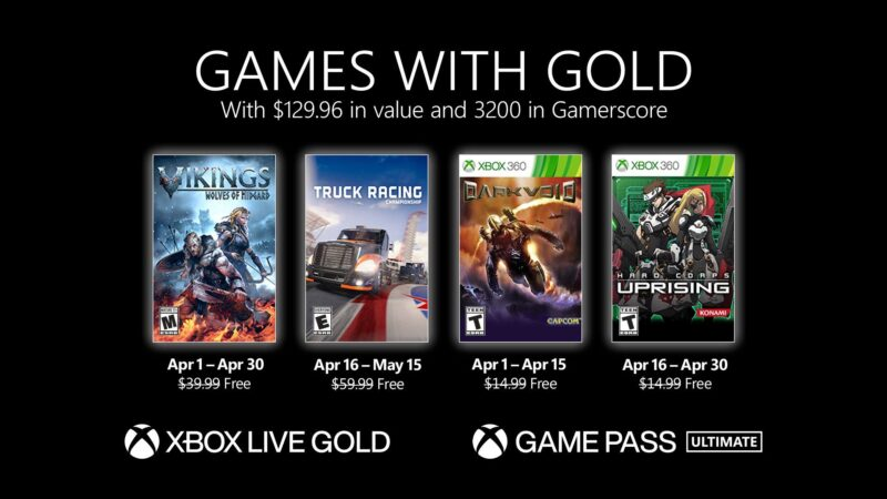 New Games with Gold for April 2021 Xbox Wire 800x450 1