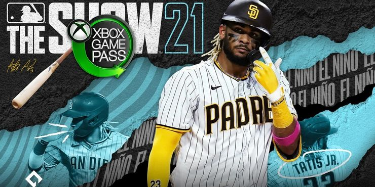 mlb the show 21 xbox game pass logo