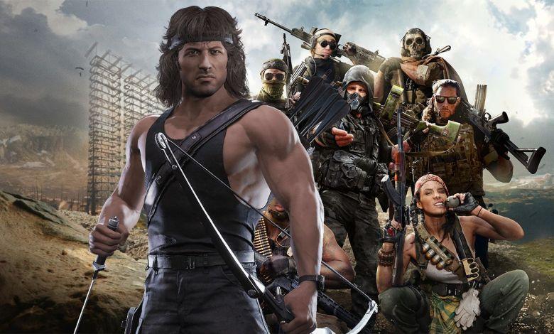 Call of Duty Warzone John Rambo
