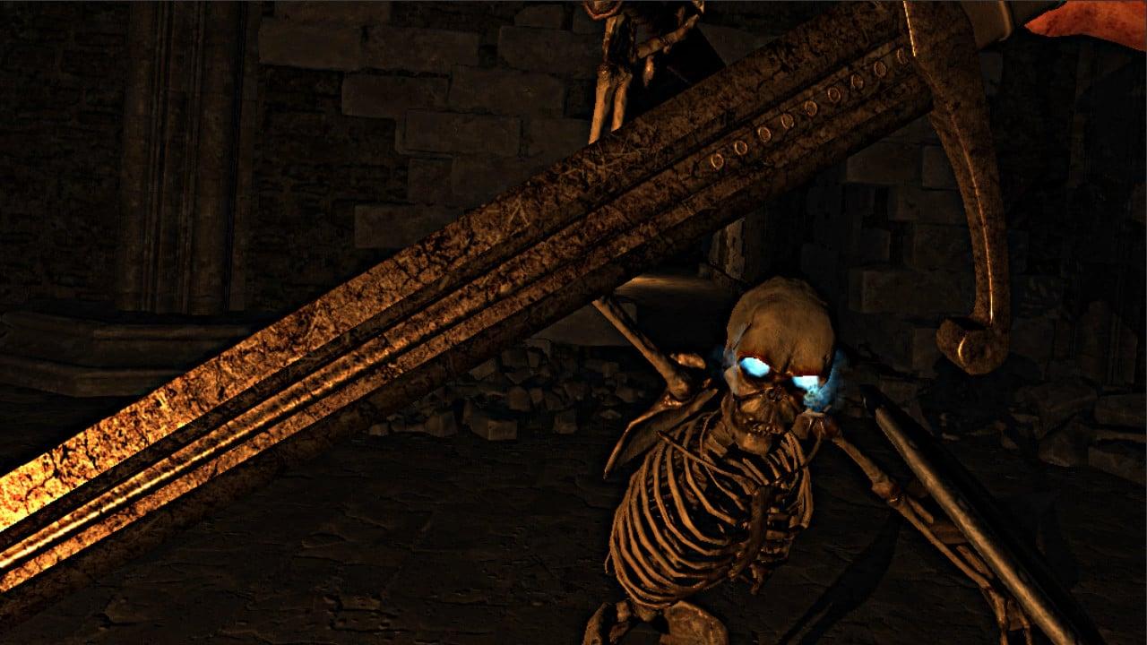 soul scathe skeleton fight vr