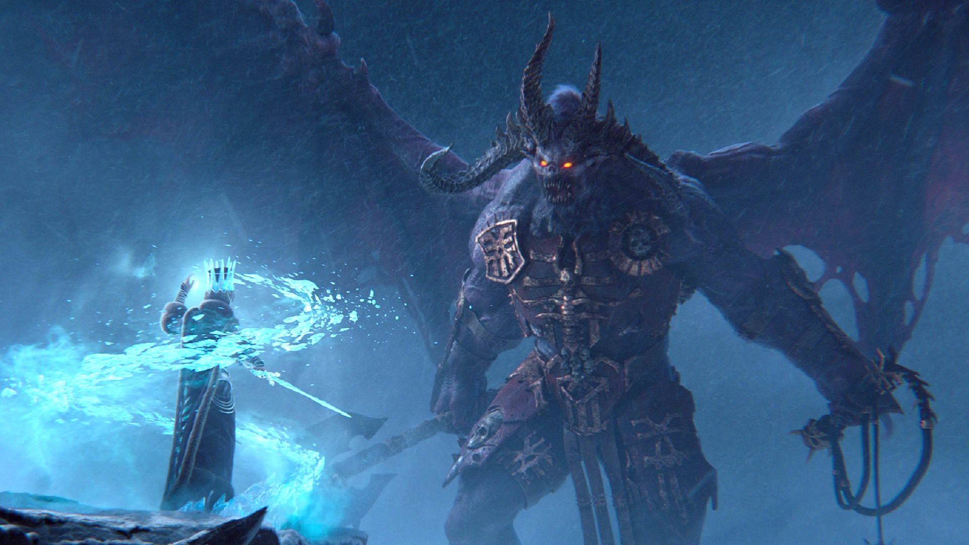 total war warhammer 3 reveal trailer