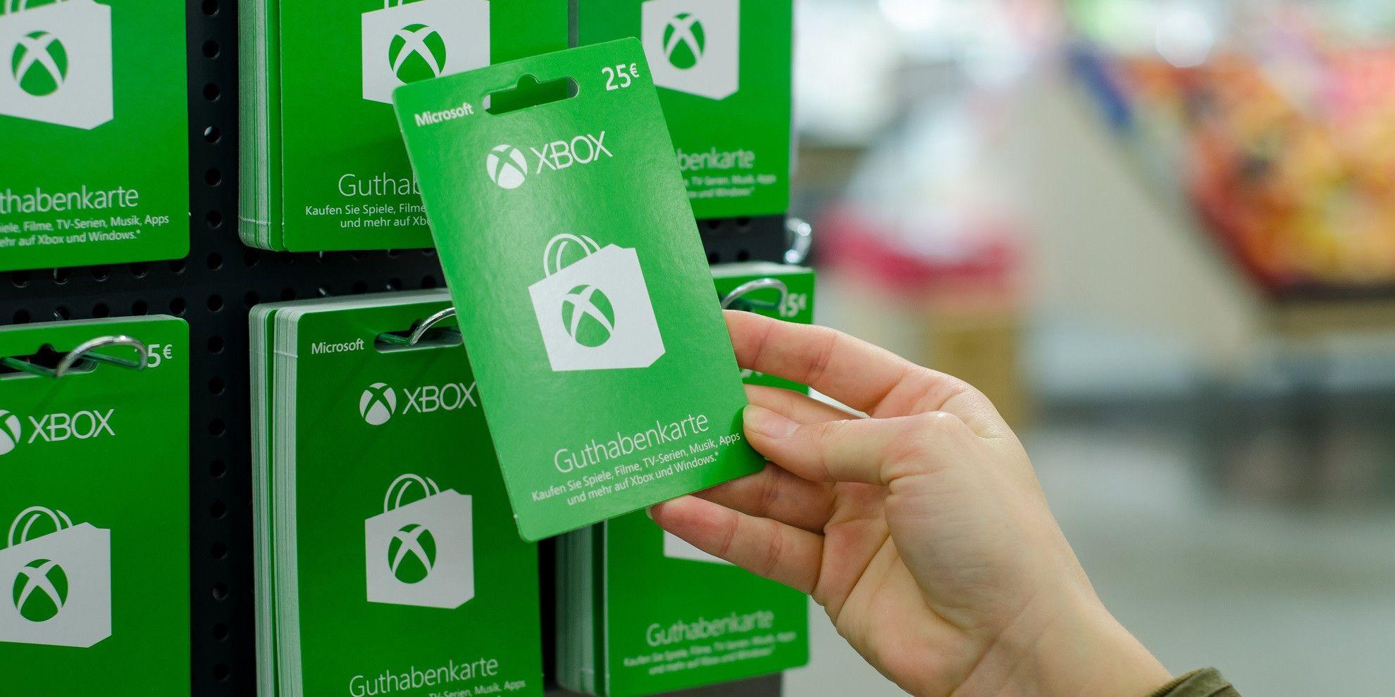 Xbox Gift Card Fraud1