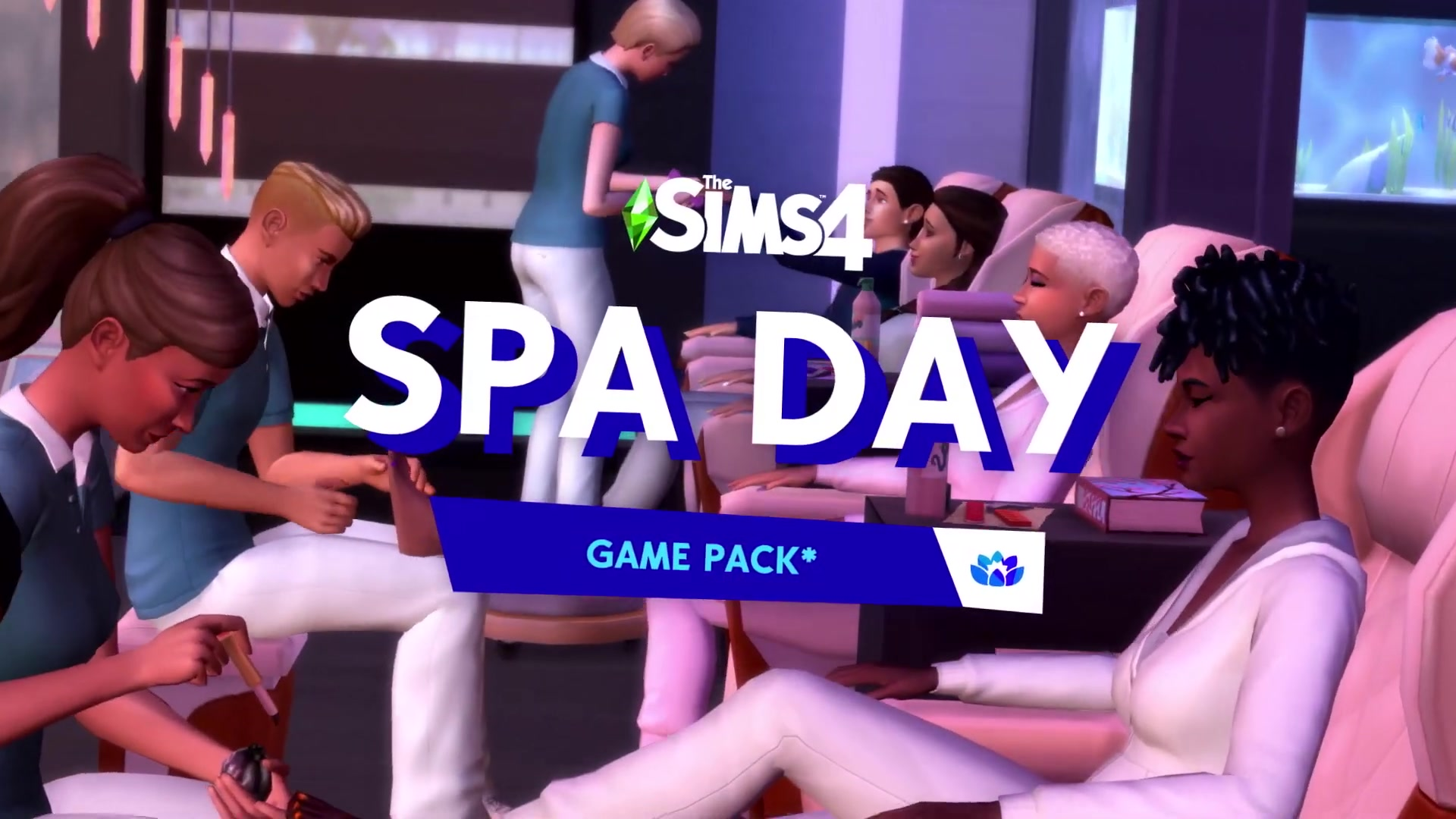 The Sims 4 Spa Day Refresh Official Trailer 043