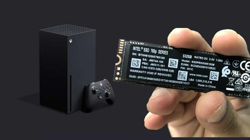 Xbox storage test