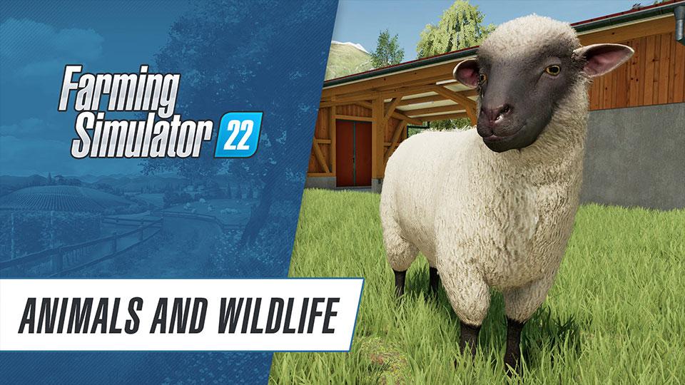 Farming Simulator 22s New Trailer Showcases Animals Wildlife